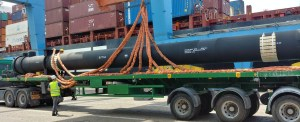 Parts For Geothermal Power Plant Offloaded in NYNJ