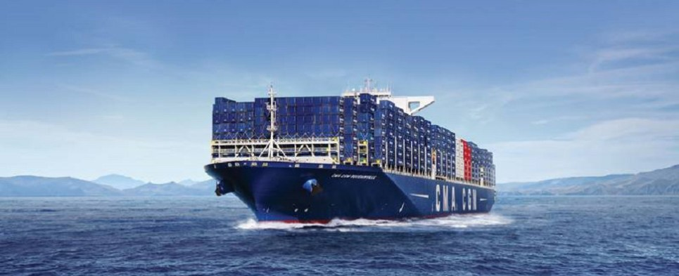 CMA CGM is use LNG-powered vessels to carry shipments of export cargo and import cargo in international trade.