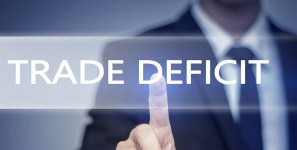 Trade policy is not the way rto reduce deficits from shipments of export cargo and import cargo in international trade.