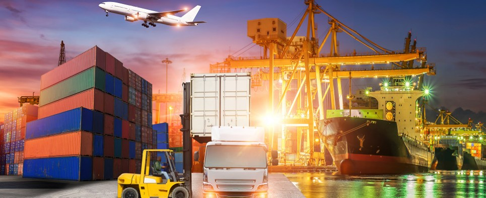 Global logistic planning guide advises on shipments of export cargo and import cargo in international trade.
