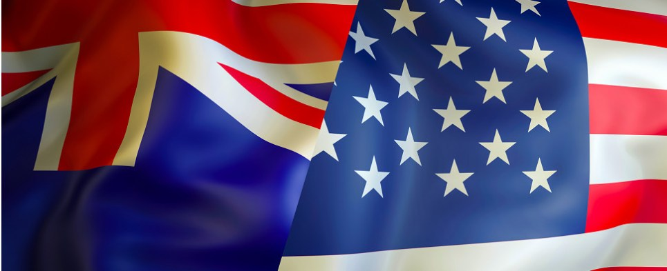US and Australia meet to discuss shipments of export cargo and import cargo in international trade.