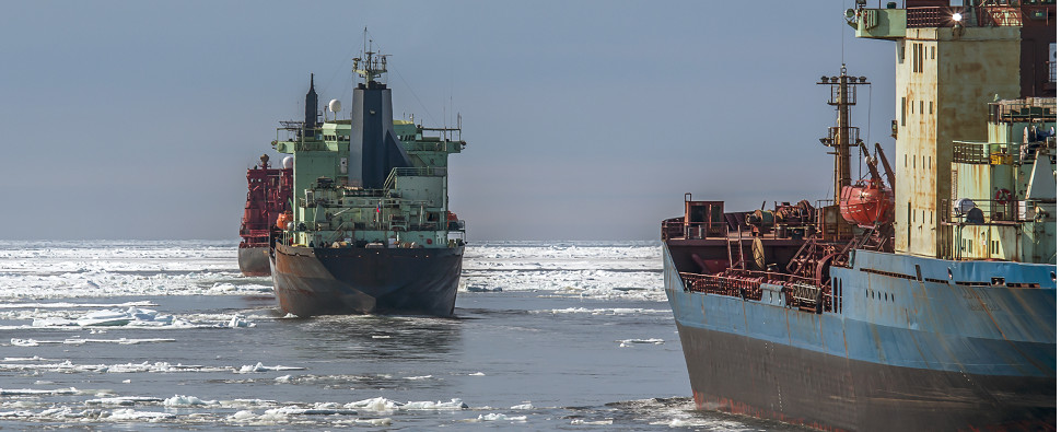 South Korea wants more Arctic shipments of export cargo and import cargo in international trade.