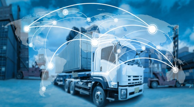 New logistics technologies help deliver shipments of export cargo and import cargo in international trade.