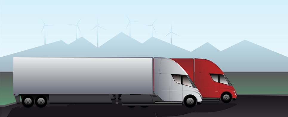 Logistics provider is acquiring electric trucks to move shipments of export cargo and import cargo in international trade.