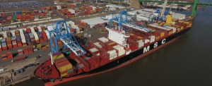 Largest Vessel to Call at Arrives PhilaPort From West Coast of South America