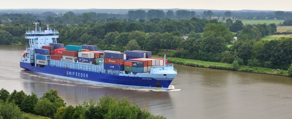 Inland waterways to transit more shipments of export cargo and import cargo in international trade.
