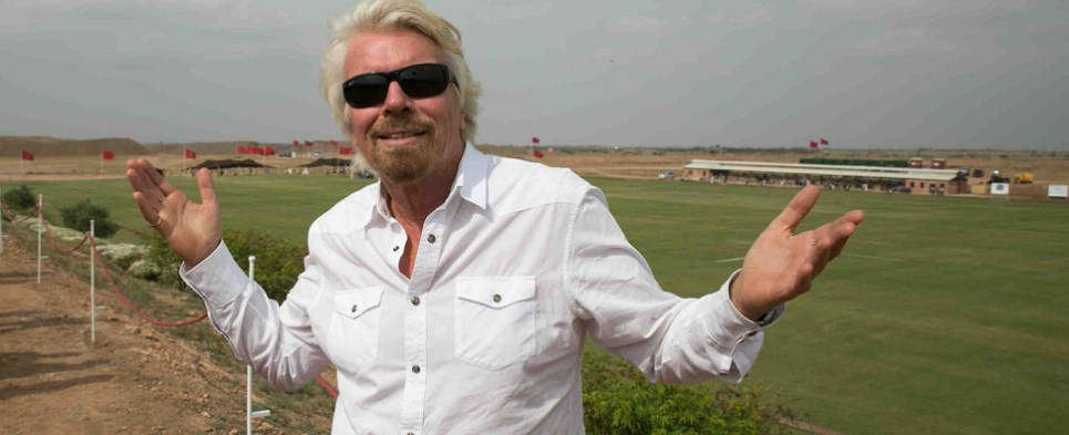 Branson wants high speed shipments of export cargo and import cargo in international trade..
