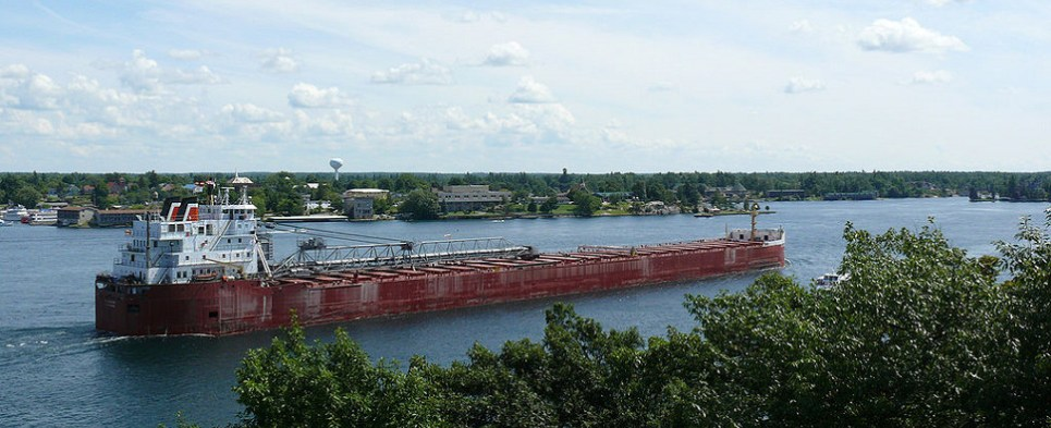 The St. Lawrence Seaway transited more shipments of export cargo and import cargo in international trade in 2017.
