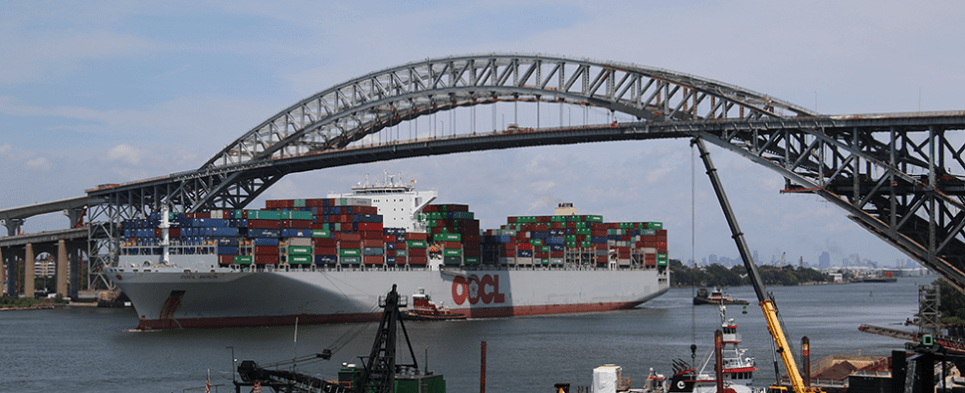 Expansions will allow ports to handle more shipments of export cargo and import cargo in international trade.