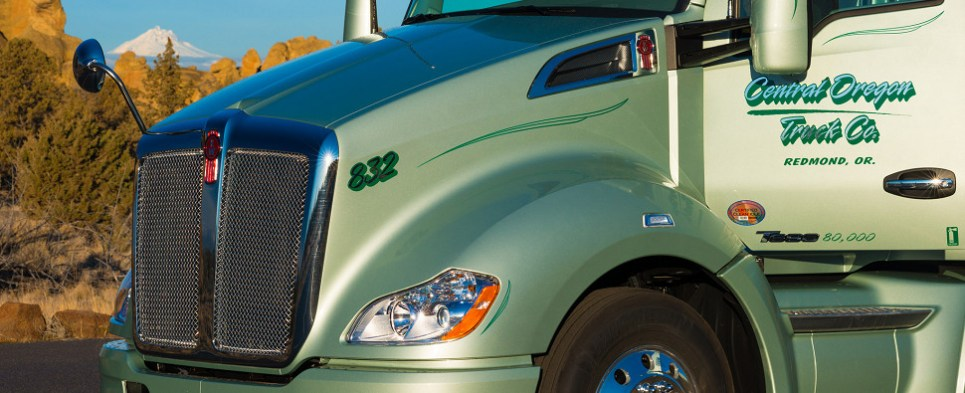 Truckers earn more for delivering shipments of export cargo and import cargo in international trade.