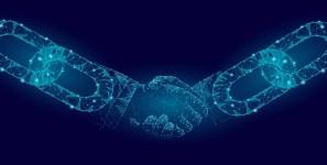 Blockchain facilitates shipments of export cargo and import cargo in international trade.