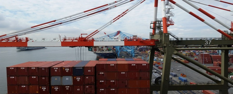 Seaports are important for shipments of export cargo and import cargo in international trade.