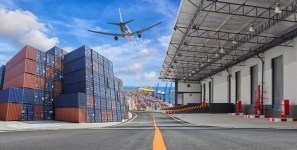 Software helps manage shipments of export cargo and import cargo in international trade.