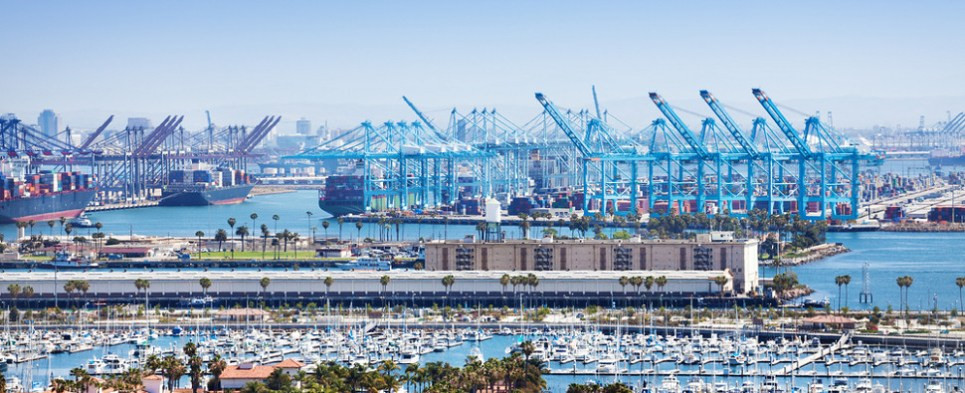 Redevelopment will allow port to handle more shipments of export cargo and import cargo in international trade.