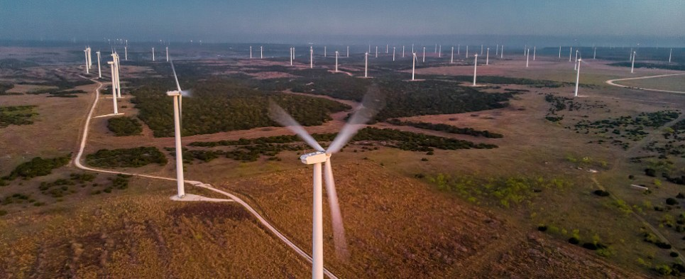Wind energy installations involve shipments of export cargo and import cargo in international trade.