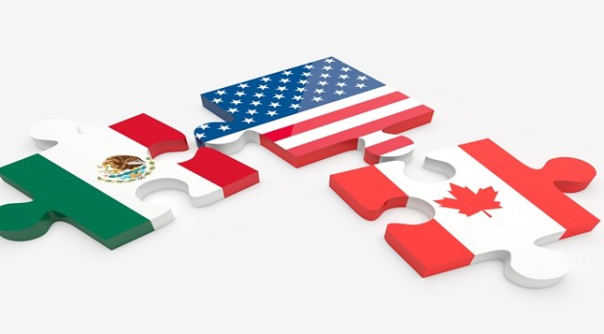 New NAFTA would govern North American shipments of export cargo and import cargo in international trade.