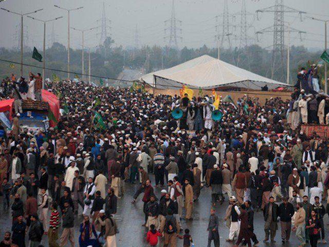essay on dharna in islamabad