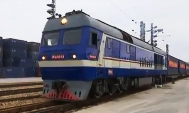 First cargo train from China leaves for Karachi - Global