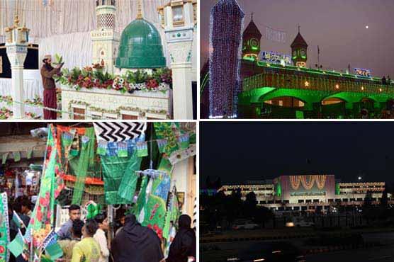 Muslims across the world celebrate Eid Milad-ul-Nabi