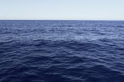 Ocean surface turning acidic