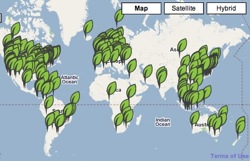 Green Maps tracks environmental impacts and resources right down to your local neigborhood