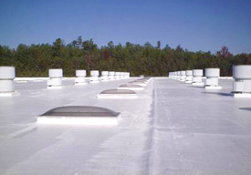 Simply making roof surfaces white can have a dramatic benefit to energy and climate