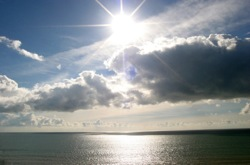 New data suggests warming oceans create a positive feedback loop by thinning cloud cover