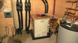 Among the home energy-efficiency incentives now available are tax credits for 30 percent of the cost of the installation of renewable energy equipment at home, such as geothermal heating and cooling systems like the one pictured here.
