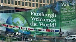 The G20 meets in Pittsburg at the end of Climate Week