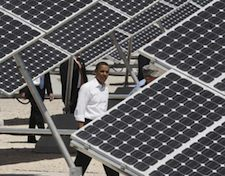 Obama agrees to solar panels on the White House