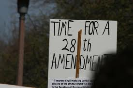 28th Amendment to Constitution