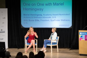 One-on-One with Mariel Hemingway