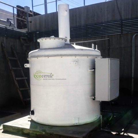 Ecoverde EG-6/EG-6T Series Bioscrubber
