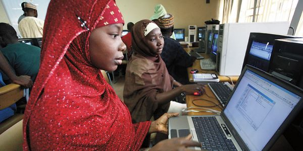computer class in africa
