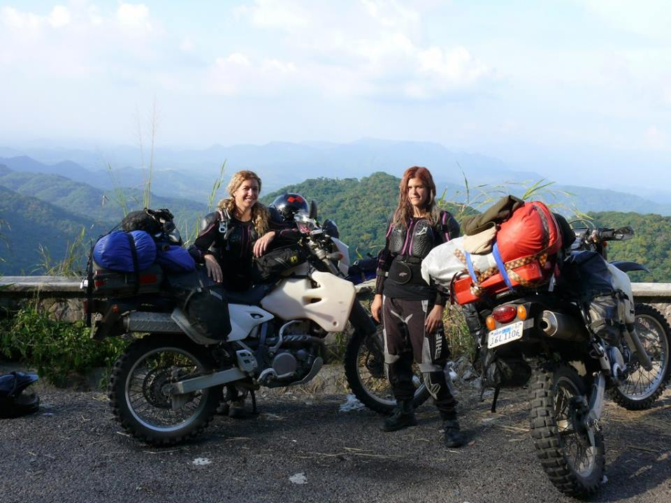 Motorcyclist Andrea and Becky - Global Women Who Ride