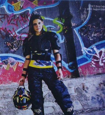Motorcyclist Tatiana Shevchenko - Global Women Who Ride