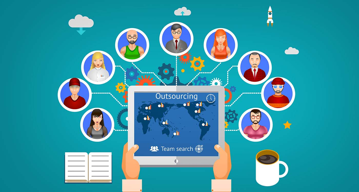 Why does outsourcing help you have a better management?