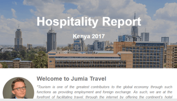 Jumia Travel launches the Hospitality Industry Report Kenya 2016/ 2017