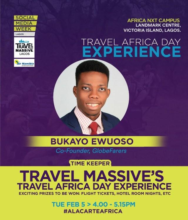 Bukayo Ewuoso at social media week