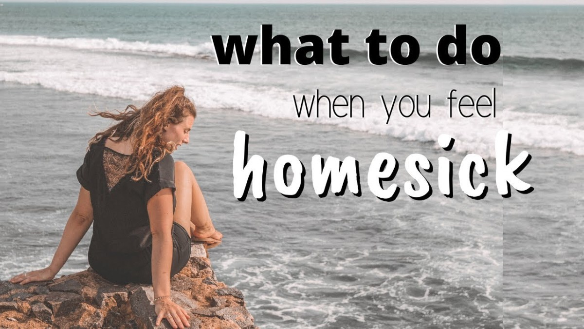 Dealing With Homesickness While Travelling