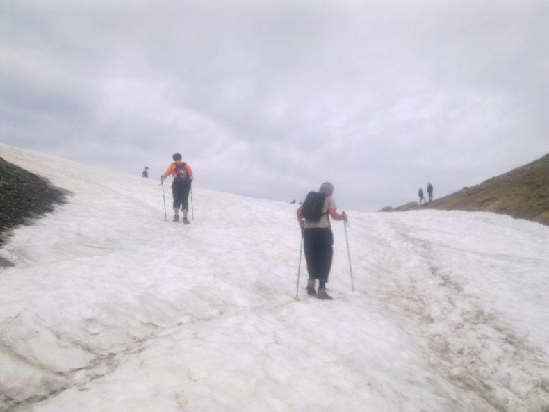 Mont Blanc sneeuw