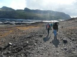Gletsjerwandeling Vatnajökull IJsland