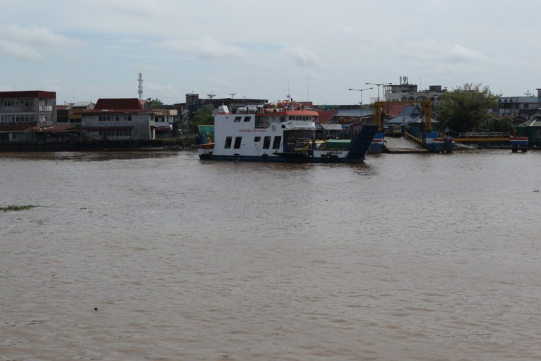 De evenaar in Pontianak