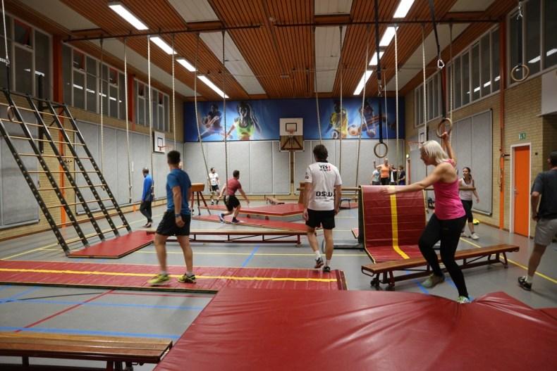 Apenkooien gym
