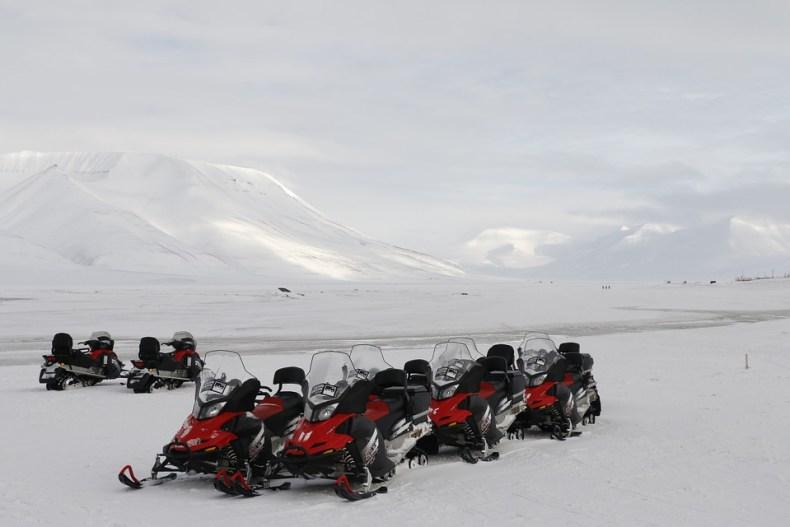 Voorbereid naar Spitsbergen