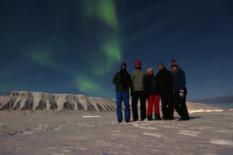 spitsbergen in de winter