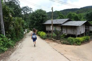 route door Thailand