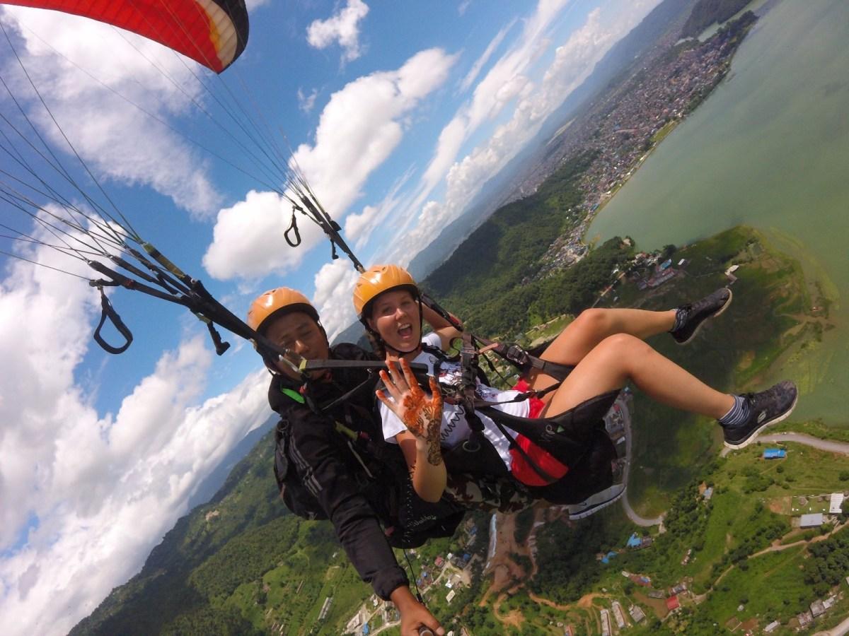 Paragliding Pokhara: hoogtepunt van reis naar Nepal!