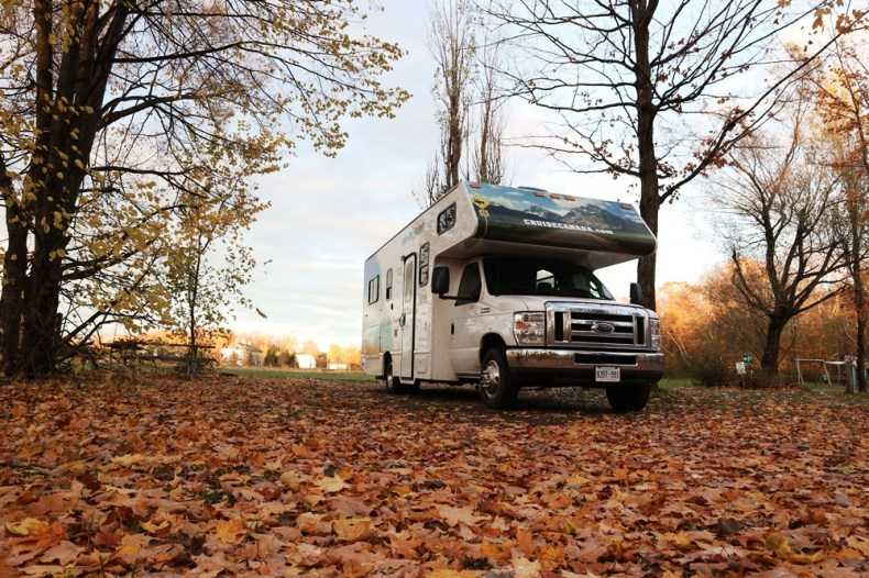 campings in oost-canada