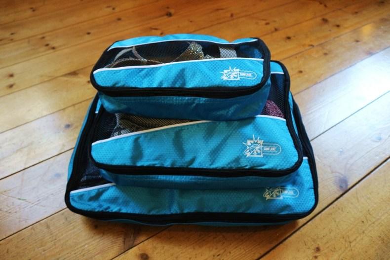 packing cubes & kabel organizer